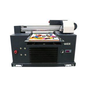 மலிவான விலை uv cd dvd printer a4 a3 a2 uv flatbed printer
