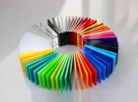 Colored Plexiglass
