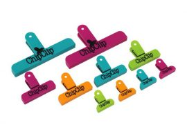 Plastic chip clips