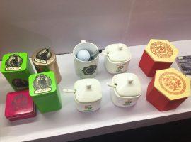 Teacup and tea box