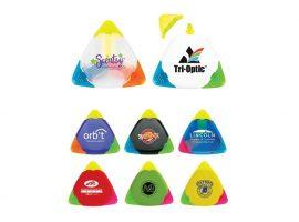 Triangular highlighters