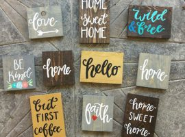 Wooden Signs 2